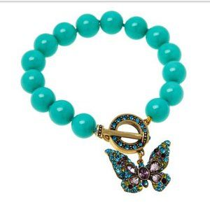 "NIB  Heidi Daus ""Monarch Magic"" Butterfly Bracelet"